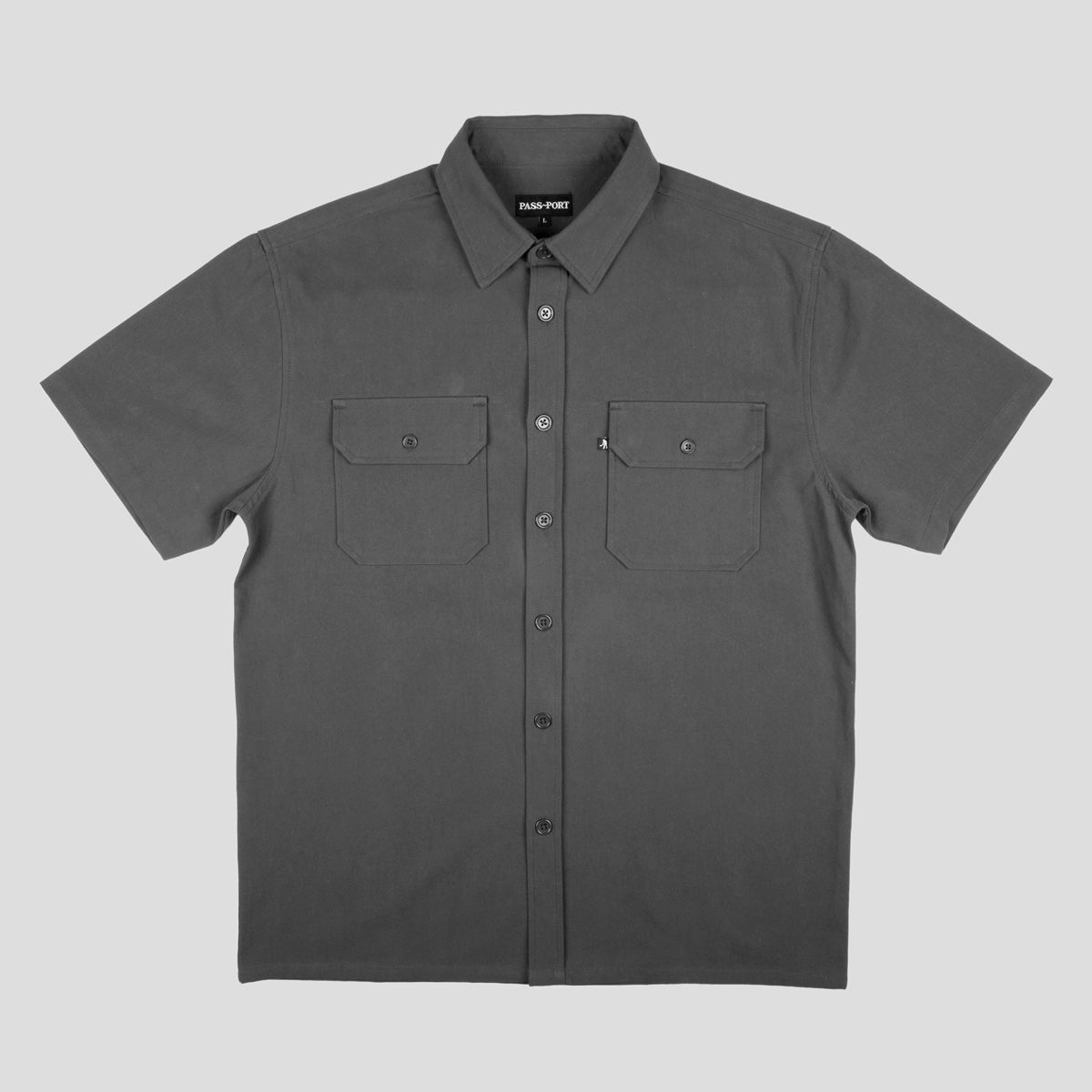 "PASS~PORT ""WORKERS"" S/S SHIRT TAR"