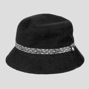 PASS~PORT & CAMP COVE SWIM BUCKET HAT BLACK