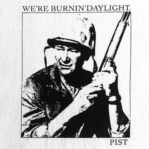 "PIST ""BURNING DAYLIGHT"" L/S TEE WHT"