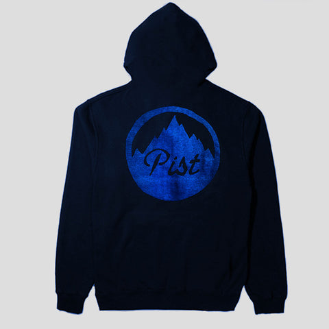 "PIST ""PARAMOUNT"" ZIP HOODY NVY/BLUE"