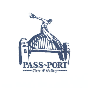 "PASS~PORT ""RIDE THE HARBOUR"" TEE WHITE"