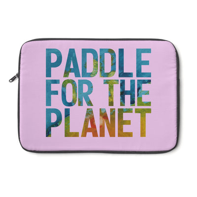 Paddle For The Planet Laptop Sleeve