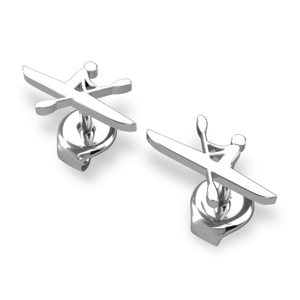 Kayak Athlete Stud Earrings