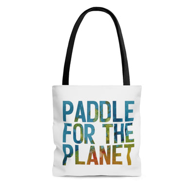 Paddle For The Planet Tote Bag