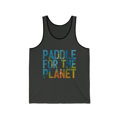 Paddle For The Planet Unisex Jersey Tank