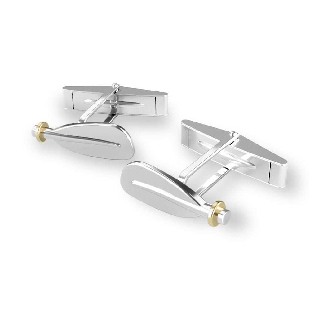 Kayak Paddle Cuff Links