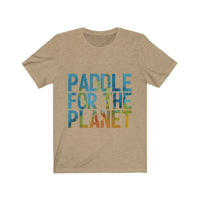 Paddle For The Planet Unisex Jersey Short Sleeve Tee