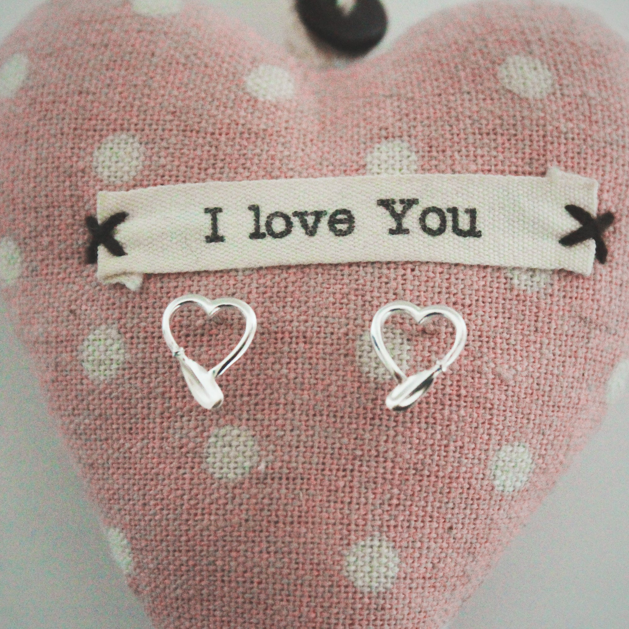Kayak Heart Earrings