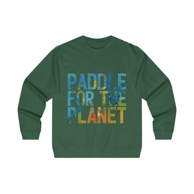 Paddle For The Planet  Crewneck Sweatshirt