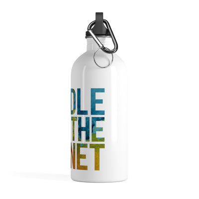 Paddle For The Planet Stainless Steel Water Bottle