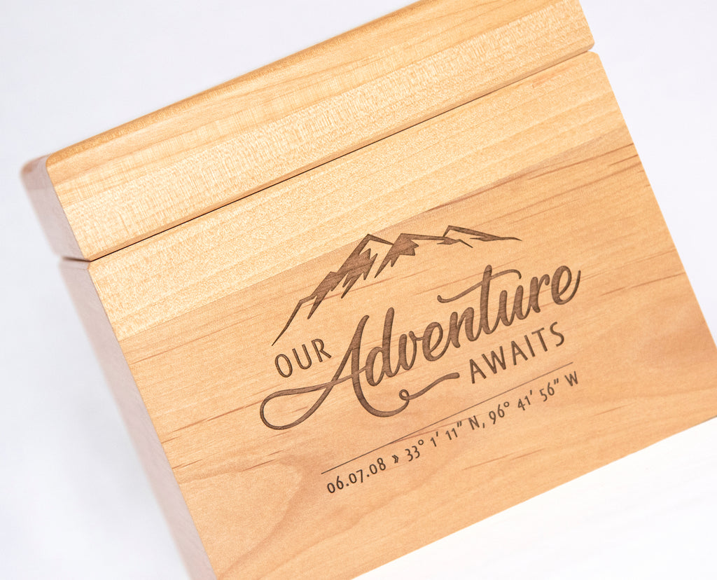 Our Adventure Awaits - Recipe Box
