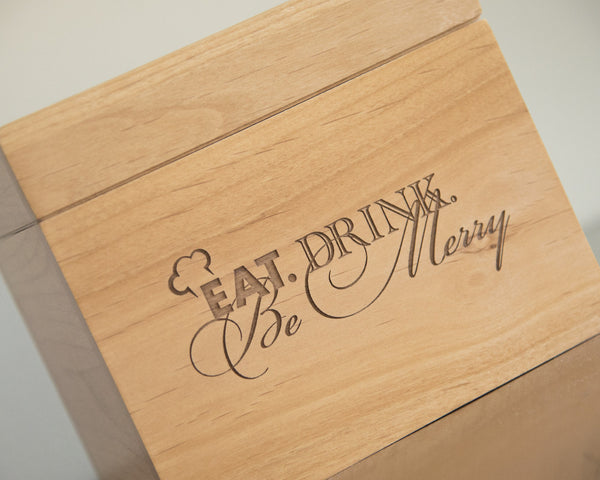 Eat, Drink & Be Merry - Recipe Box