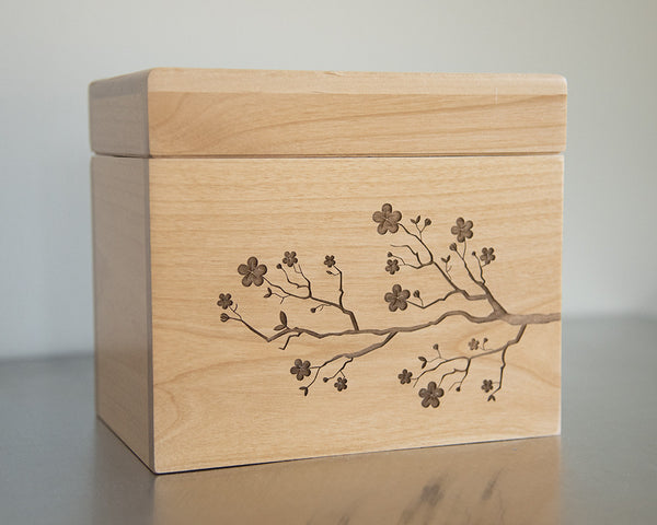 Cherry Blossoms - Recipe Box