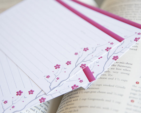Cherry Blossoms - Recipe Cards