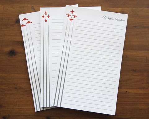 Air Force Notepad - Formation