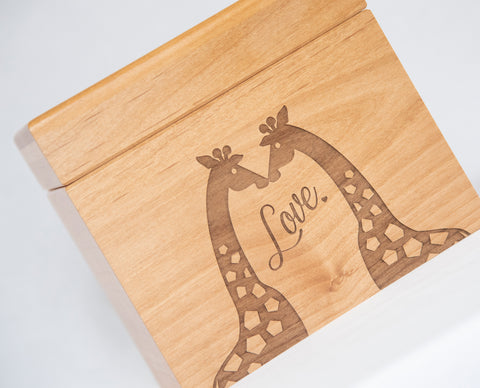 Loving Giraffes - Recipe Box