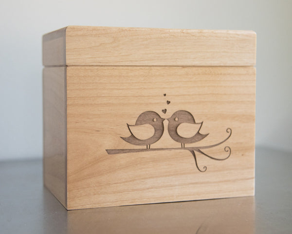 Lovebirds - Recipe Box