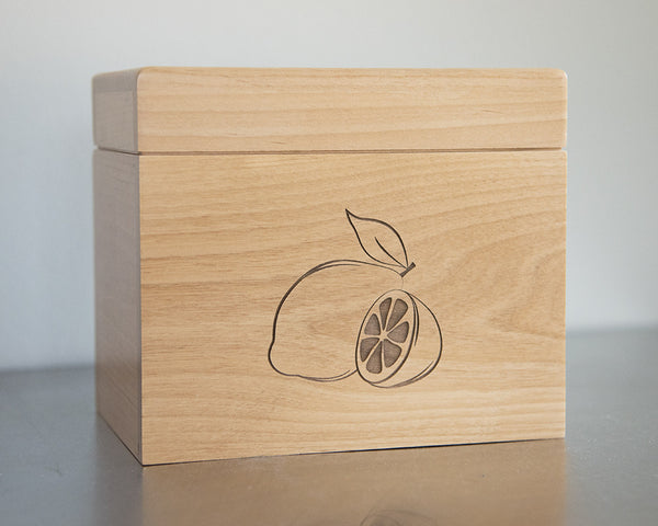 Lemons - Recipe Box