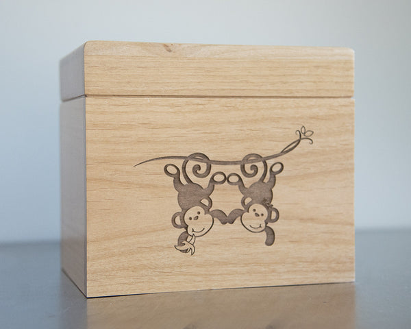 Monkeys - Recipe Box