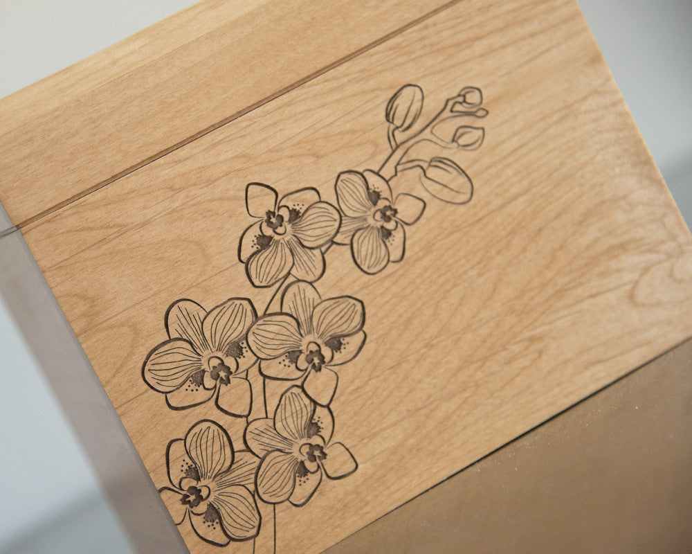 Orchid - Recipe Box