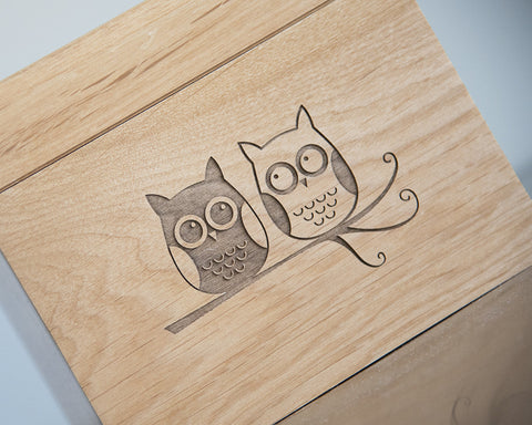Owls - Recipe Box