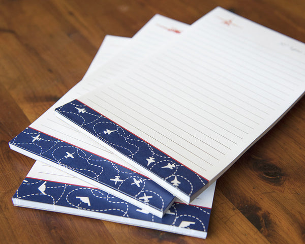 Air Force Notepad - Flight Pattern