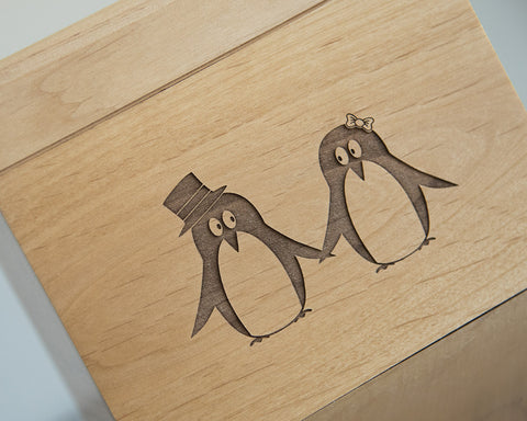 Pair of Penguins - Recipe Box