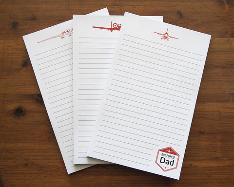 Air Force Notepad - Family
