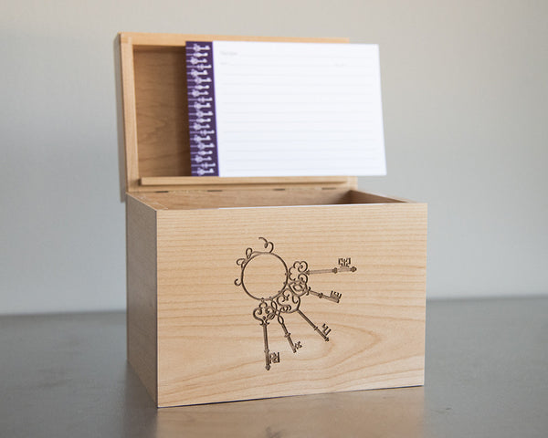Skeleton Keys - Recipe Box
