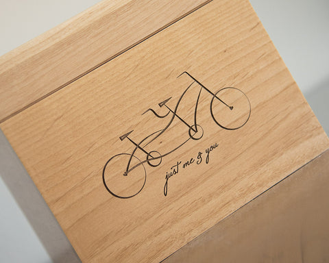 Tandem Bicycle - Recipe Box