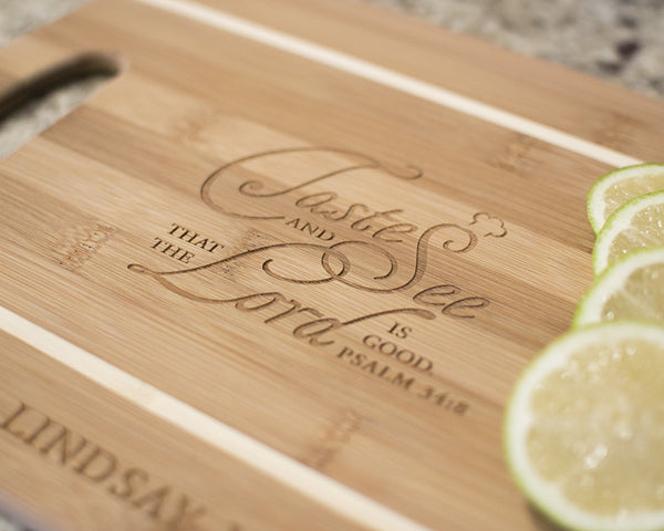 Psalm 34:8 - Cutting Boards