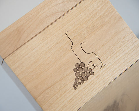 Wine & Grapes - Recipe Box