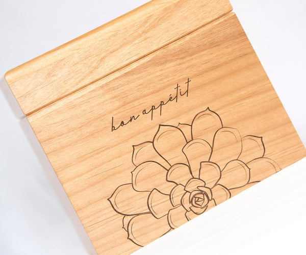Succulent - Personalized Recipe Box