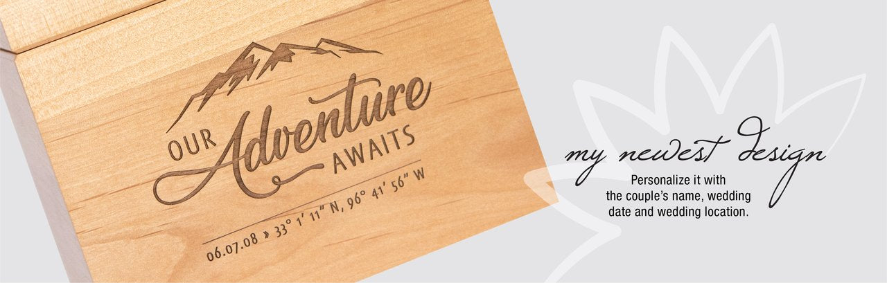 New Recipe Box Design Our Adventure Awaits