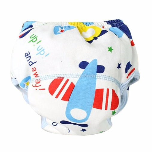 Airplane Cloth Diaper
