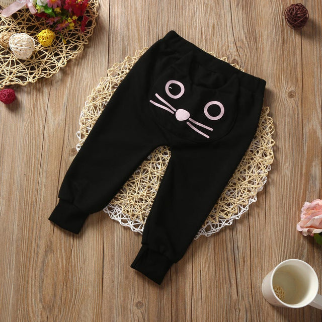 Cat Long Pants