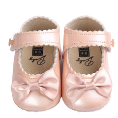Bowknot Leather Shoes