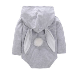 Rabbit Hooded Romper