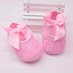 Bowknot Crib Shoes