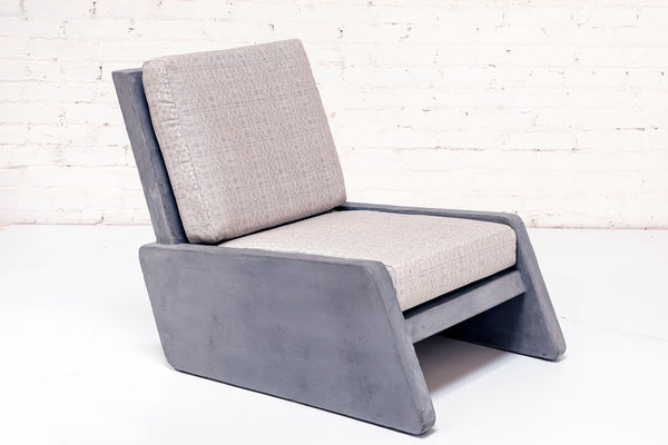 Pacific Lounge Chair - Concrete