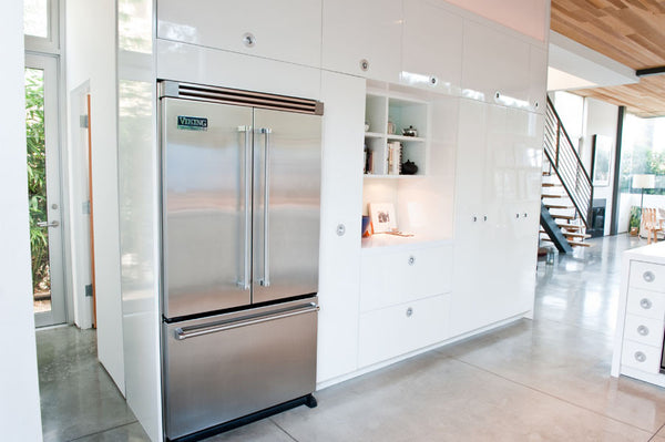 Seamless ultra-modern kitchen