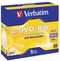 Verbatim DVD+RW 4.7GB 4x 5 Pack with Jewel Cases