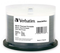 Verbatim BD-R 25GB 6X White Wide Thermal Printable 50 Pack on Spindle