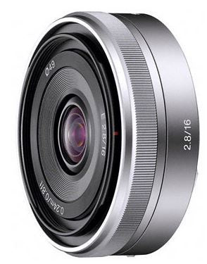 Sony Alpha SEL16F28 16MM F2.8 Wide Interchangeable E Mount Lens