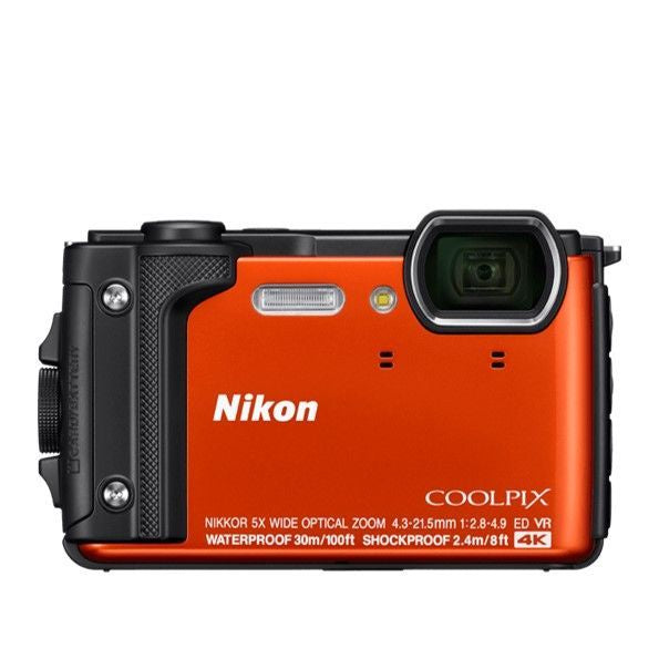 Coolpix W300 Orange+Silicone Jacket