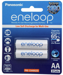 Panasonic Eneloop AA 2000mAh Rechargeable Batteries 2 Pack