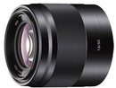Sony SEL50F18 E Mount 50mm F1.8 OSS Black Lens