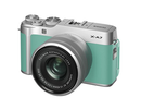 Fujifilm X-A7 24.2MP Camera w/ XC15-45mm lens Mint Green