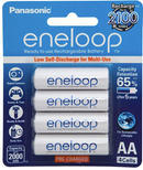 Panasonic Eneloop AA 2000mAh Rechargeable Batteries 4 Pack