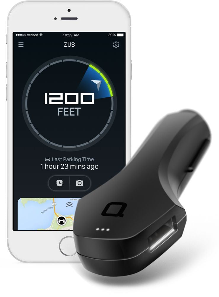 Zus Usb Car Charger And Finder